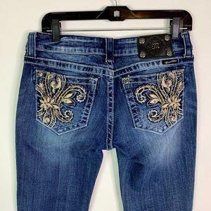 Miss Me Jeans Women's Size 29 Boot Cut Dark Wash J